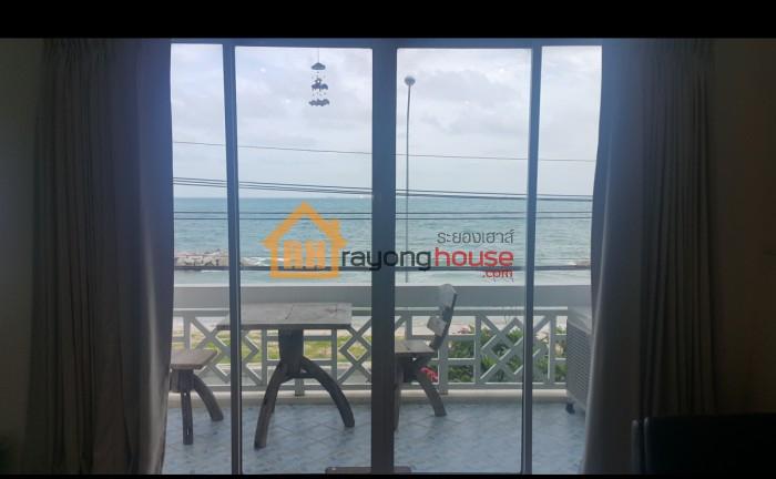 ห้องชุดบ้านชายทะเล ให้เช่า 37/7 ชั้น 2, 38 ตรม. วิวทะเล หาดแสงจันทร์ ระยอง รายวัน/รายเดือน