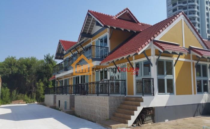ขายบ้านแฝด 2 ชั้น ติดถนนเลียบชายหาดแม่รำพึง บ้านเพ