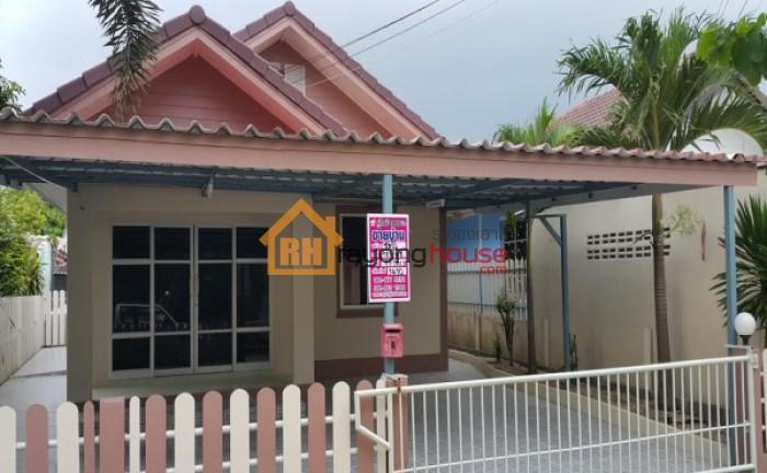 ขายถูก บ้านเดี่ยวชั้นเดียว หมู่บ้านชมวิว (ฟายโฮม) ซอย 15/2  เลขที่ 125/48