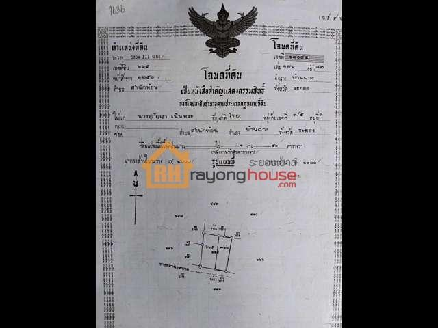 ขายถูก บ้านเดี่ยวชั้นเดียว แถววัดสระแก้ว ซ.1 เทศบาล45 เลขที่ 3/41 ต.สำนักท้อน อ.บ้านฉาง จ.ระยอง เนื้อที่ 83 ตรว.