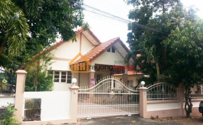 ขายถูก บ้านเดี่ยวชั้นเดียว หมู่บ้านเติมทรัพย์ เลขที่ 5/97 บ้านฉาง ระยอง 54.9 ตรว.